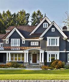 slate grey exterior with copper accent search