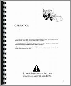 ford 555 fuse box ford 550 tractor loader backhoe operators manual