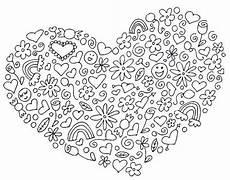 ausmalen als anti stress valentinstag herz valentinstag 5