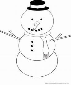 Malvorlage Kinder Schneemann Ausmalbilder Winter Und Schnee