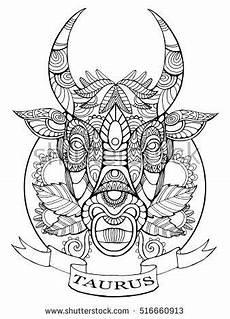 constellation of taurus worksheet ways to reduce tension stress illustration drawings