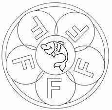 kostenlose malvorlage mandalas mandala buchstabe f zum