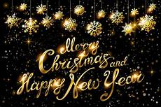merry christmas happy new year gold graphics creative market