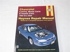 old cars and repair manuals free 1995 geo prizm electronic toll collection haynes repair manual chevrolet lumina monte carlo and impala fwd 1995 thru 2005 products i