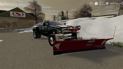 Fs19 Snow Plow