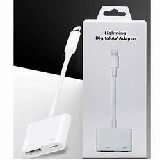 lightning to hdmi digital av cable adapter for apple