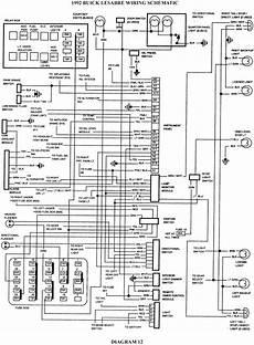 1992 Buick Lesabre Schematic Wiring Diagrams Schematic