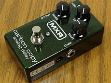 carbon copy analog delay mxr m169 carbon copy analog delay image 692144 audiofanzine