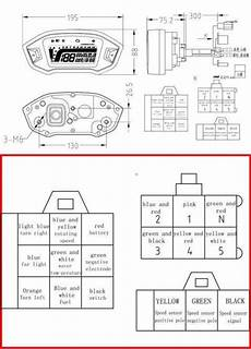 13 wire diagram for chopper 17 universal motorcycle speedometer wiring diagram motorcycle diagram in 2020 with images
