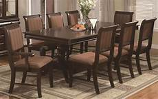 new bordeaux formal dining room 10 piece set table w leaf 8 chairs server ebay