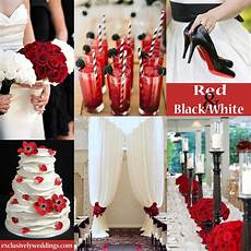 red wedding color seven vibrant combinations red