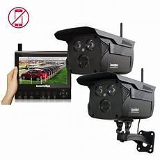 wireless outdoor security securityman wireless 4 channel surveillance system 2