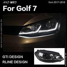 akd car styling for vw golf 7 mk7 led headlight golf7 5 r