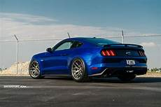 Perfectly Stanced Mustang On Adv 1 Custom Wheels Carid