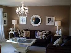 how to decorate around choc brown sofas for the