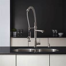 kraus commercial pre rinse chrome kitchen faucet kraus kpf 1602 chrome commercial style pre rinse kitchen faucet with pot filler ebay
