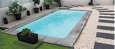 piscine coque carrée mini piscine coque polyester rectangulaire 224 fond plat