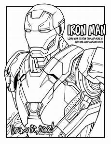 ironman drawing at getdrawings free