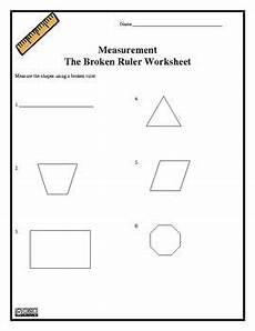 measurement worksheets middle school 1517 the broken ruler worksheet measurement free with images innovative worksheets