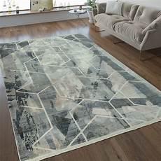 Designer Teppich Geometrische Muster Taupe Teppich De