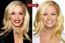 hollywood hair virtual makeover try on celebrity