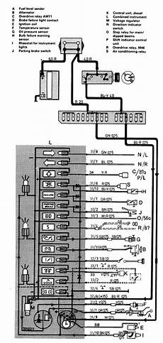 volvo 244 1986 1987 wiring diagrams