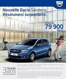 offre dacia sandero offre dacia au maroc sandero 224 partir de 79 900 dhs