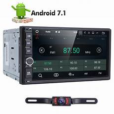 7 smart android 4 4 3g wifi 2din car radio stereo