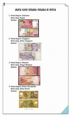 Mata Mata Uang Negara Di Dunia