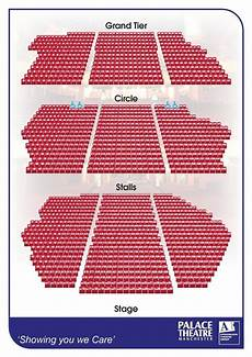 opera house manchester seating plan manchester palace theatre and opera house everything you
