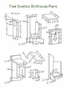 tree swallow house plans tree swallow birdhouse plans bird houses bird house