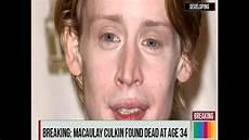 macaulay culkin is dead a