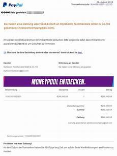 paypal phishing ihre zahlung war erfolgreich vorsicht