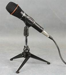 microphone table stands new adjustable metal desktop table mic microphone cl clip holder stand tripod ebay