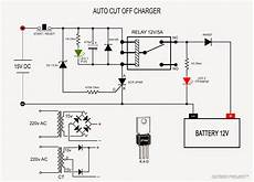outbox project membuat charger aki otomatis auto cut off charger circuit