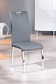 chaise salle a manger grise le monde de l 233 a