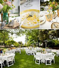 real wedding rachel brent s outdoor wedding green