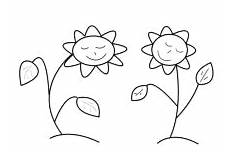 Malvorlagen Blumen Mit Gesicht Malvorlagen Blumen Und Bl 252 Ten Ausmalbilder F 252 R Kinder