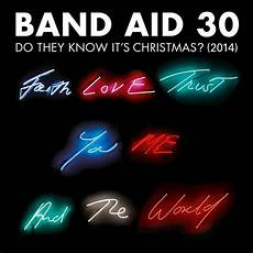 Band Aid Do They It S - band aid 30 s do they it s goes to number