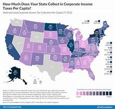 Missouri State Tax Chart 2015 How Much Does Your State Collect In Corporate Income Taxes