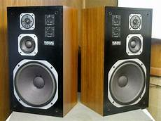 yamaha ns 590 monitor stereo speakers 12 quot woofers