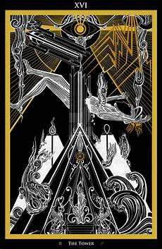 Xvi The Tower Der Turm Tarot By Inaauderieth On Deviantart