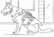 Ausmalbilder Polizei Spezialeinheit K 9 Coloring Page Free Printable Coloring Pages