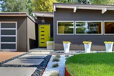 modern glass house open landscaping decorations mid century modern landscaping ideas design decors of
