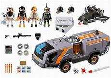 Playmobil Ausmalbilder Top Agents 5286 Team Command Vehicle Playmobil Top Agents 2