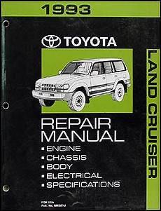 best car repair manuals 1997 toyota land cruiser auto manual 1993 toyota land cruiser repair shop manual original