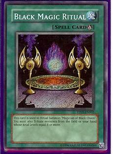 schwarze magie rituale yu gi oh gx pp01 en002 black magic ritual secret