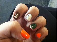 football nails football nails nail art nails