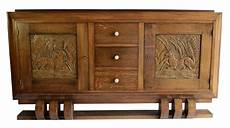 credenza deco dudouyt deco sideboard with carved biches