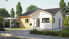 Kleines Einfamilienhaus Bauen - one story modern design with gable roof home ideas